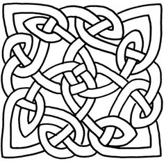 236x231 How To Draw A Celtic Knot Pattern Celtic Knots, Authors And Patterns