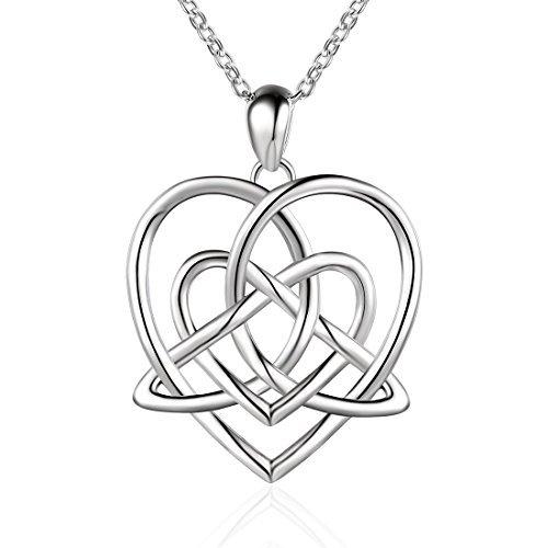 500x500 Love Knot Necklace Amazon.co.uk
