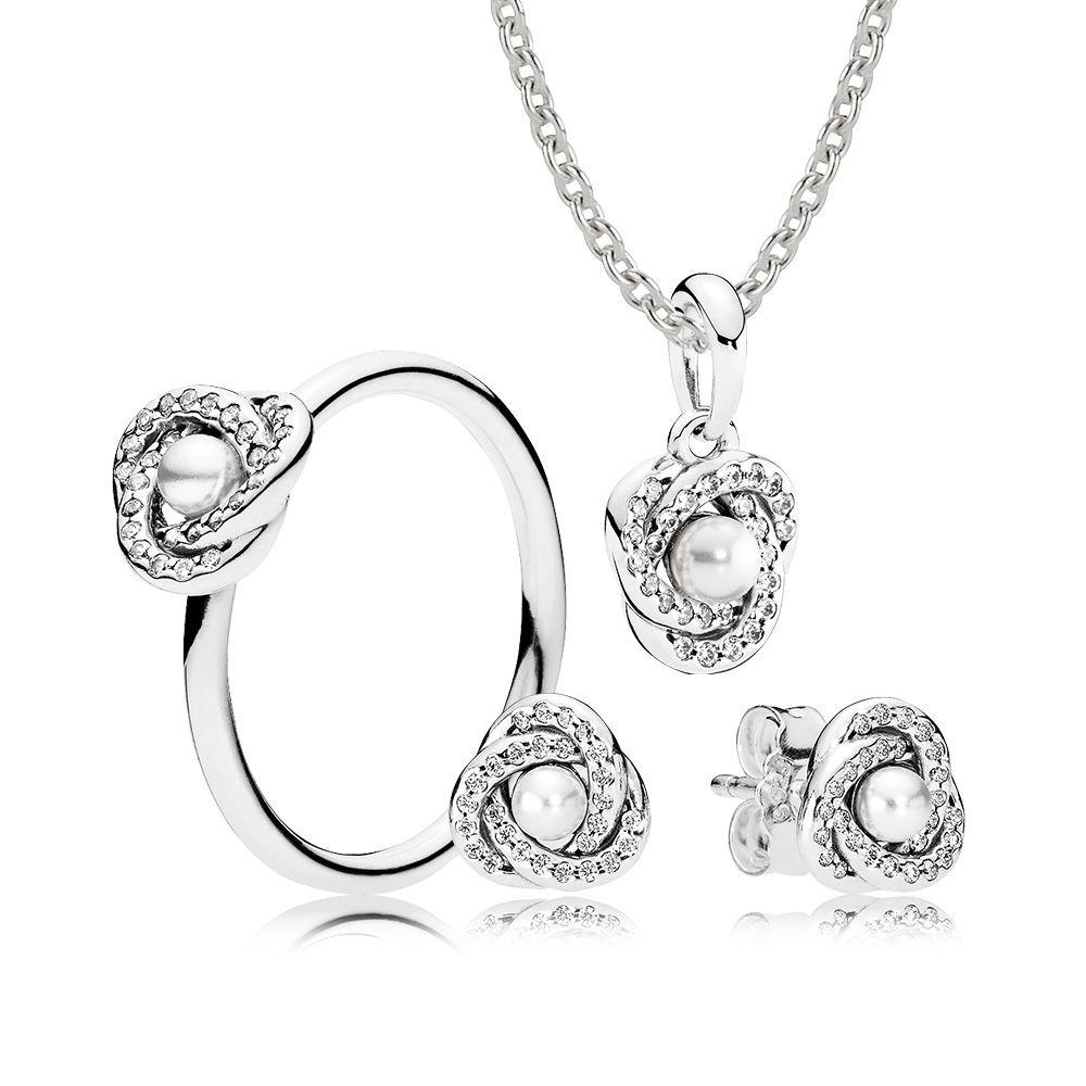 1000x1000 Luminous Love Knot Gift Set Pandora Estore