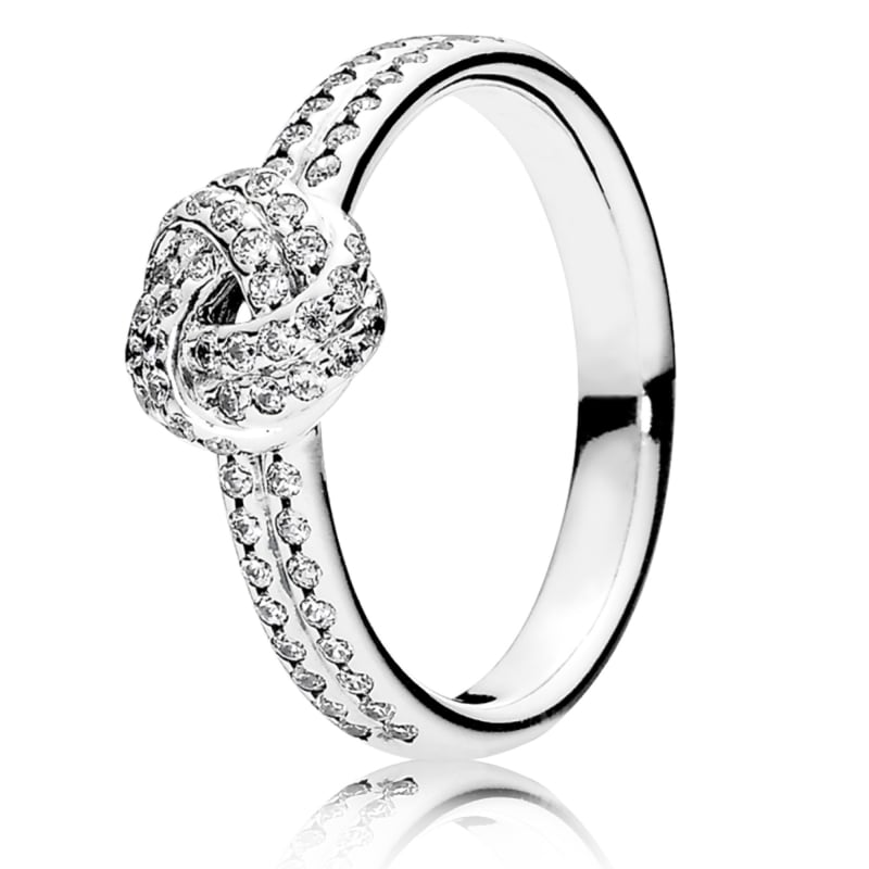 800x800 Pandora Sparkling Love Knot Ring 190997cz From Gift And Wrap Uk