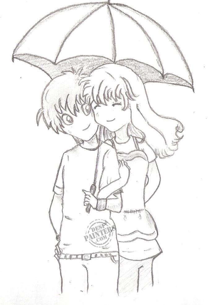 Love Pencil Drawing at GetDrawings | Free download