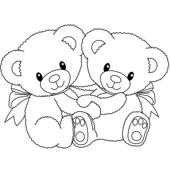600x600 How To Draw Teddy Bear Coloring Page How To Draw Teddy Bear