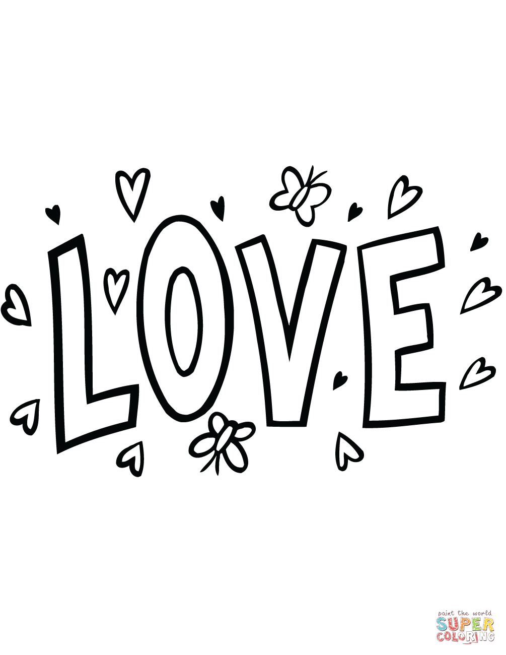 Love Word Drawing At GetDrawingscom Free For Personal Use 23