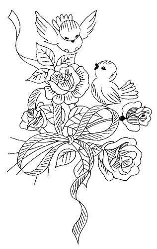 316x500 Drawn Lovebird Gel Pen