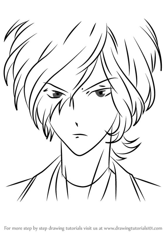 566x800 Learn How To Draw Subaru Sakamaki From Diabolik Lovers (Diabolik