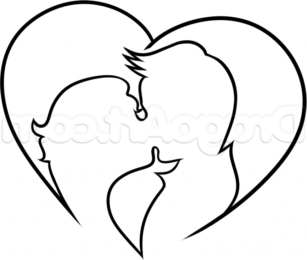 1024x870 Drawing Images Of Lovers Lovers Drawing Images Cute Love Drawings