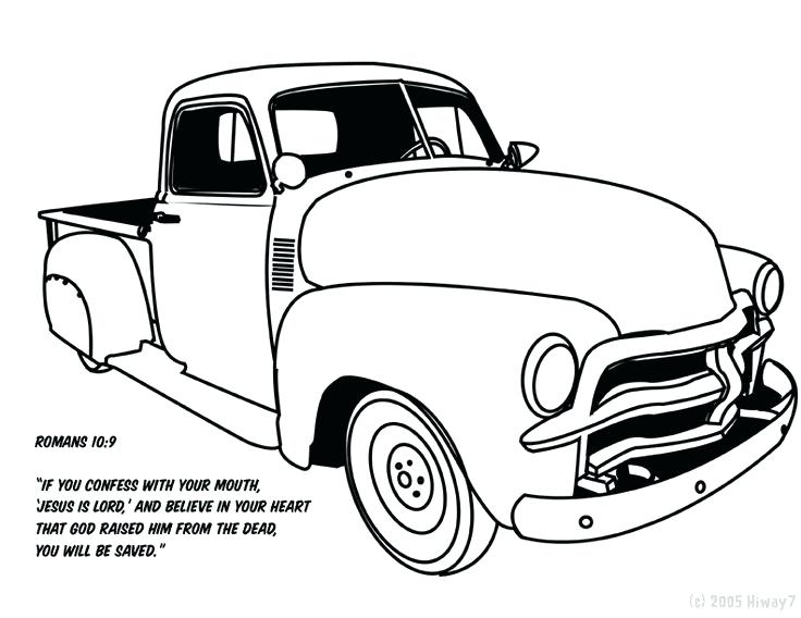 736x568 Great Awesome Lowrider Coloring Pages Free Download Truck