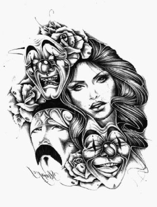 323x426 Drawing Love Gangster Girl All Graphics Girl Gangsta Love