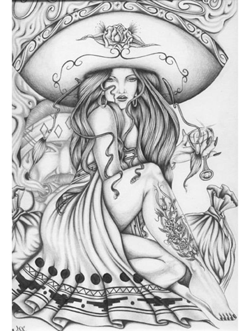 810x1080 Prison Art Chicano' A Lifestyle Art Prison Art