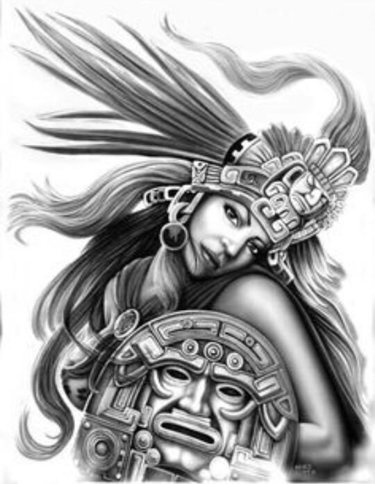 540x698 Aztec Arte Lowrider Arte Aztec