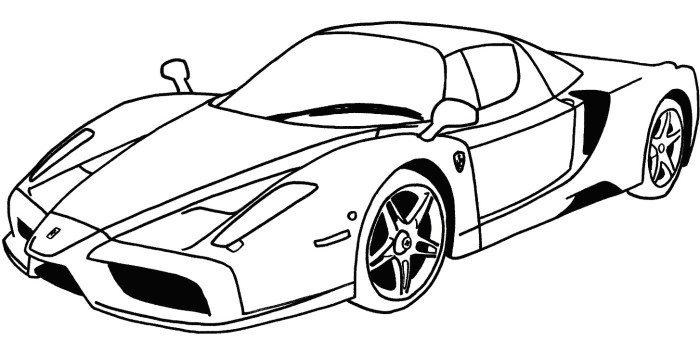 700x341 Lowrider Classic Car Cute Coloring Pages