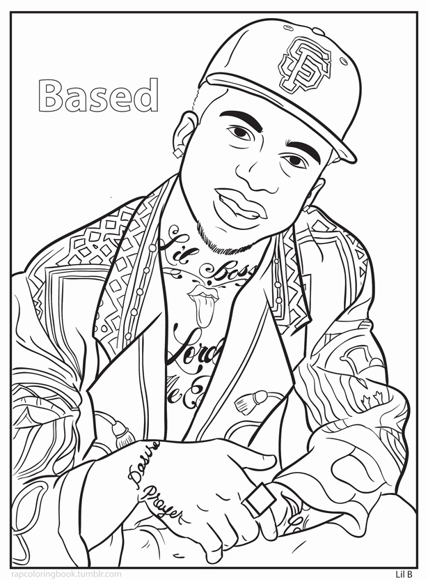615x832 Homies Coloring Pages Big Gangster Love Coloring Pages