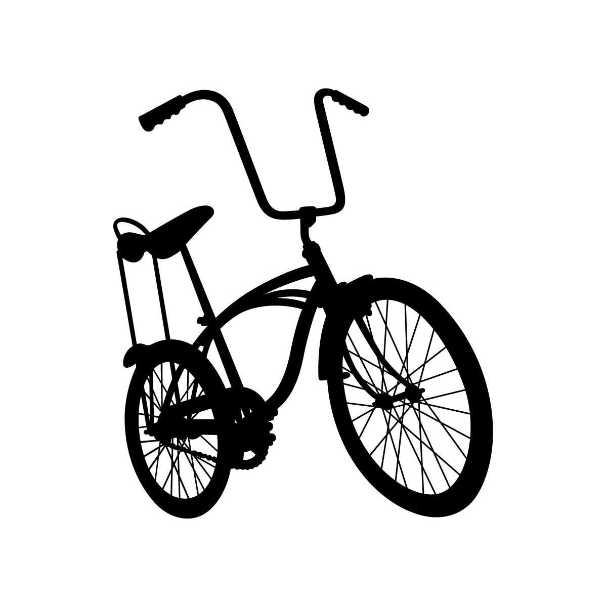 1200x1200 Lowrider Bike Sticker
