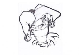 300x210 Sketch Drawing Of Graffiti Pez Featured Artist Super Mario Sketch
