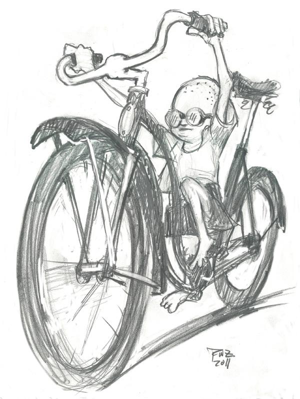 600x797 Zillustration Studio News Girl's Bike