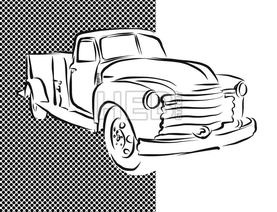 900x689 Drawn Truck Old Truck Many Interesting Cliparts