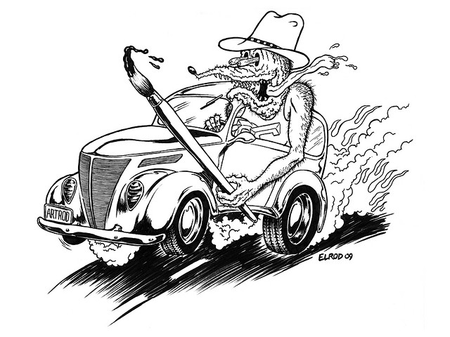 640x480 Rat Fink Lowrider And Other Cars To Color Rat Fink