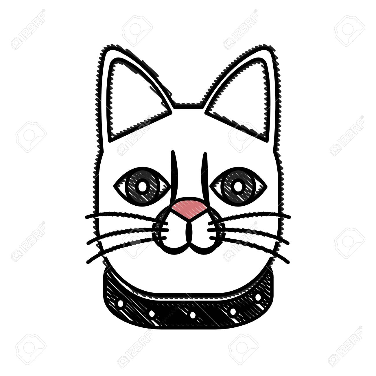 1300x1300 Drawing Japanese Lucky Cat Symbolic Talisman Toy Tradition Vector