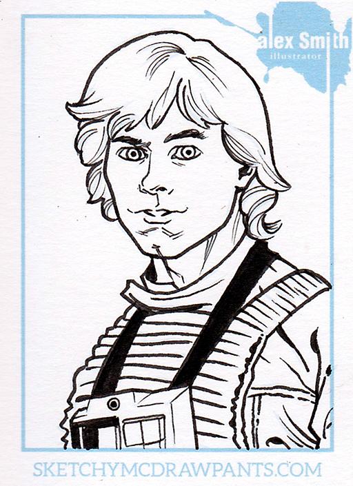 512x705 Luke Skywalker Sketchy Mcdrawpants