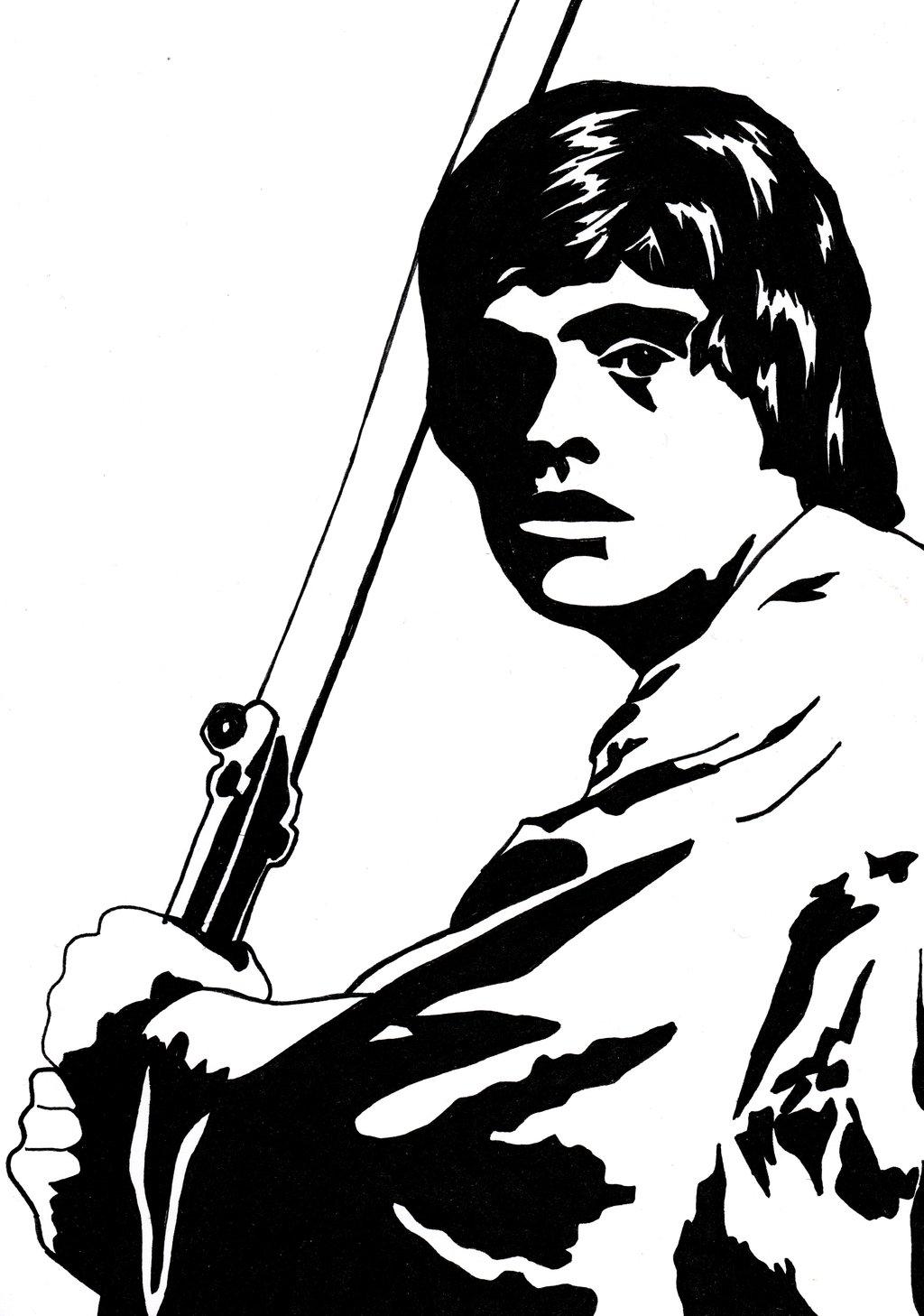 1024x1458 Luke Skywalker By Kodapops