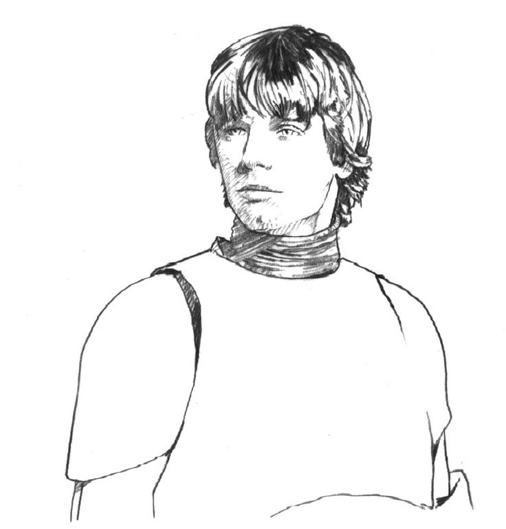 736x769 Luke Skywalker Coloring Pages