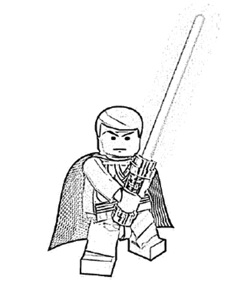 1000x1294 Lego Star Wars Luke Skywalker Coloring Pages Lego Star Wars Yoda