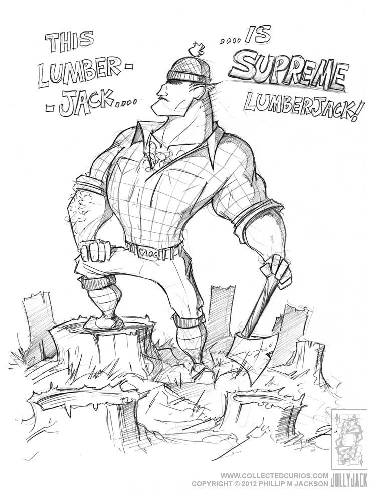 744x979 Supreme Lumberjack By Jollyjack