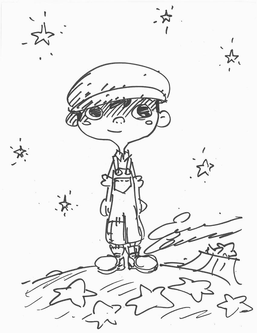 850x1100 La Luna Bambino Art To Heart Drawing By Enrico Casarosa, Oakland