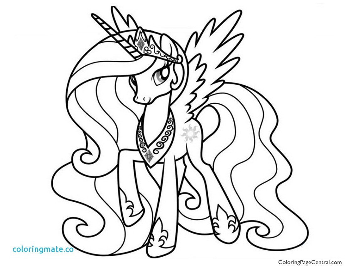 1100x850 Princess Luna Coloring Page Luxury My Little Pony Princess
