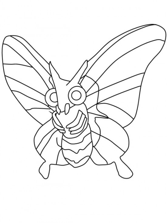 550x733 Moth Coloring Pages