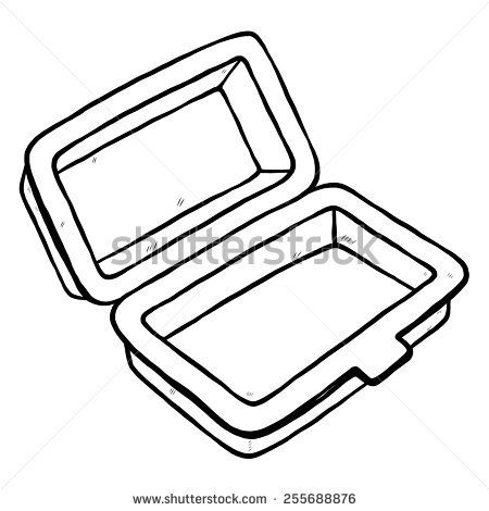 450x470 New Lunch Bag Clipart Lunch Box Vector Stock Images Royalty Free