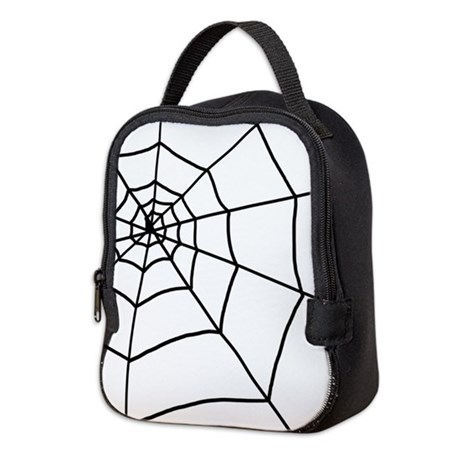 460x460 Spider Drawing Lunch Bags Amp Totes, Insulated Neoprene Lunch Bags