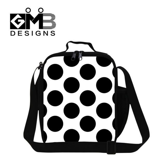 640x640 Cute Dot Print Lunch Coolers For Children,fashion Cooler Bag