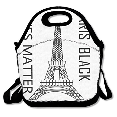 463x463 Paris Personalized Insulated Lunch Bag Lunch Tote
