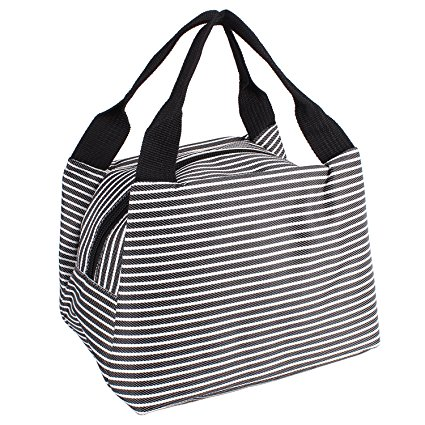 425x425 Striped Lunch Bag, Goodidus Oxford Cloth Lovely Lunch