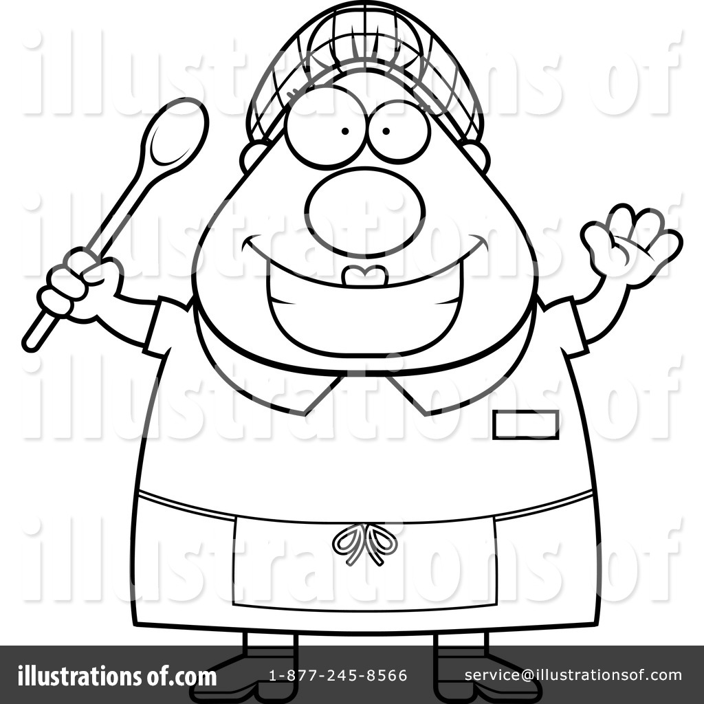 1024x1024 Lunch Lady Clipart