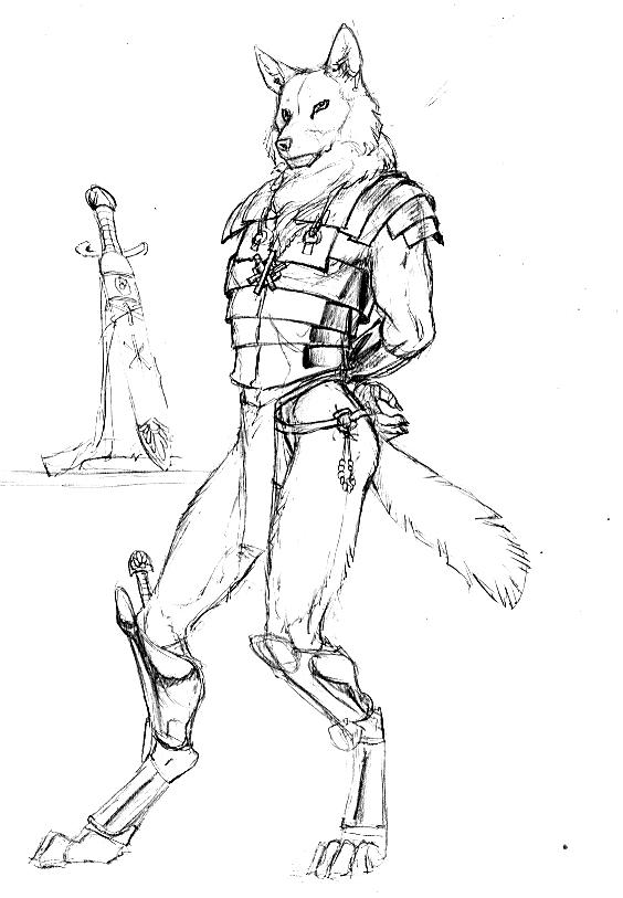 564x813 Lupine Leader Weasyl