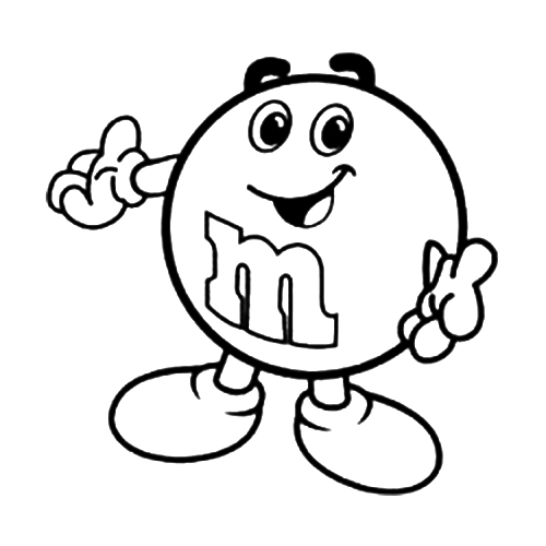 M&M Drawing at GetDrawings.com | Free for personal use M&M Drawing ...