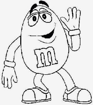 354x400 M And M Coloring Pages