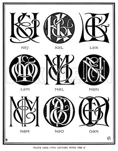 400x512 Two Letters With The Amp, K Amp J, K Amp L, L Amp K, L Amp M, M Amp L, M Amp N