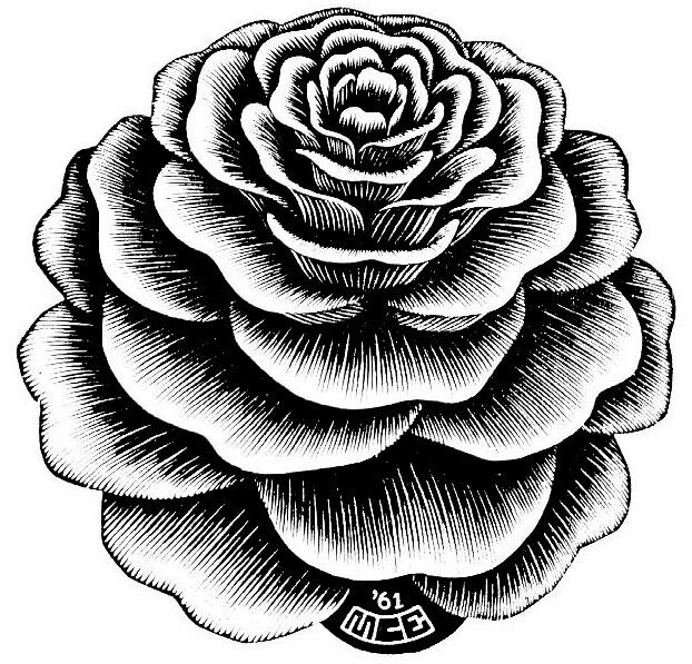 622x597 Mc Esher Escher Art School And Illustrators