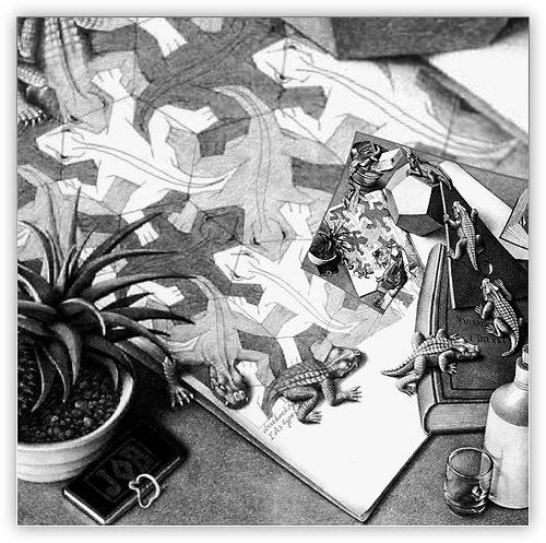 500x497 Pin By Elizabeth Watters On Art Mc Escher, Mc Escher