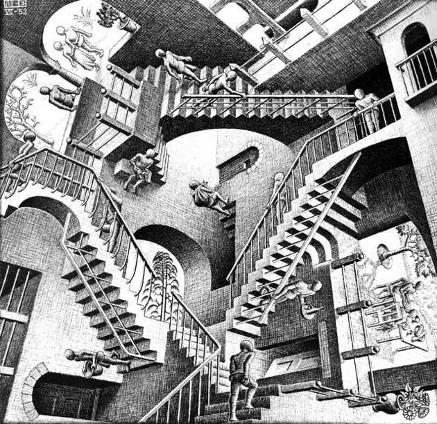 630x612 90 Best M.c. Escher Images On Escher Art, Optical