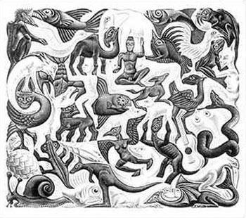 350x310 90 Best M.c. Escher Images On Mc Escher Artwork