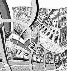 236x249 Above Below By M.c. Escher Art Mc Escher