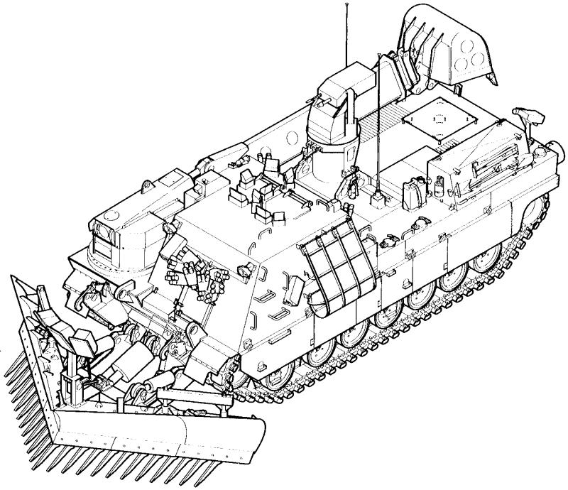 800x690 M1 Abrams Main Battle Tank