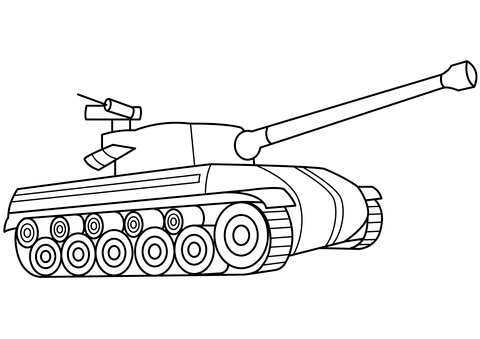 M1 Abrams Tank Drawing At Getdrawings Free Download