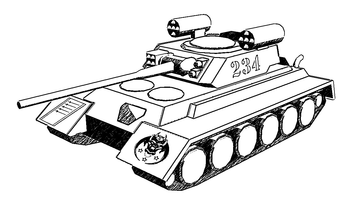 military coloring pages iraq | M1 Abrams Tank Drawing at GetDrawings.com | Free for ...