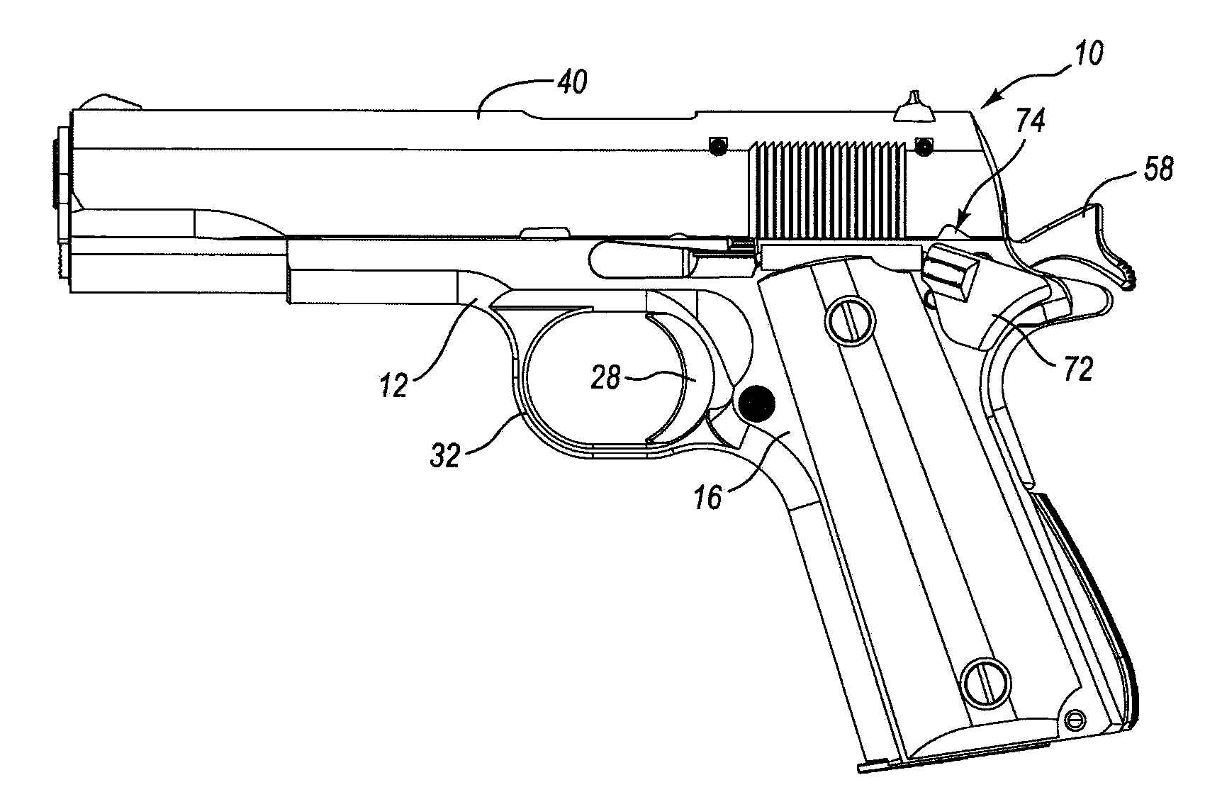 M1911 Drawing At Free For Personal Use 1911 Magazine Diagram Download Wiring Diagrams Pictures 1700x1124