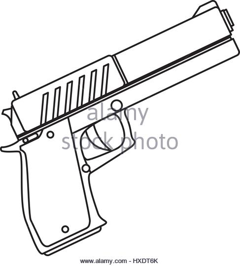 487x540 Handgun Black And White Stock Photos Amp Images